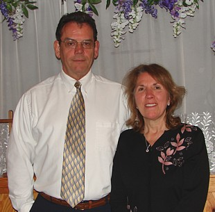 Pastor Gaylord Finch and Dorothy