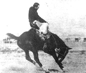 Guy Holt riding Steamboat