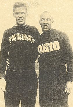 Bob Lemen and Jesse Owens