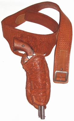 Buscadero belt and holster