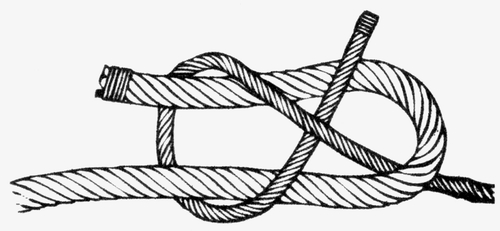 A Sheet Bend Knot