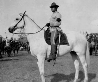 U.S. cavalryman with sabre