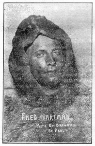Fred Hartman -- from a 1917 newspaper